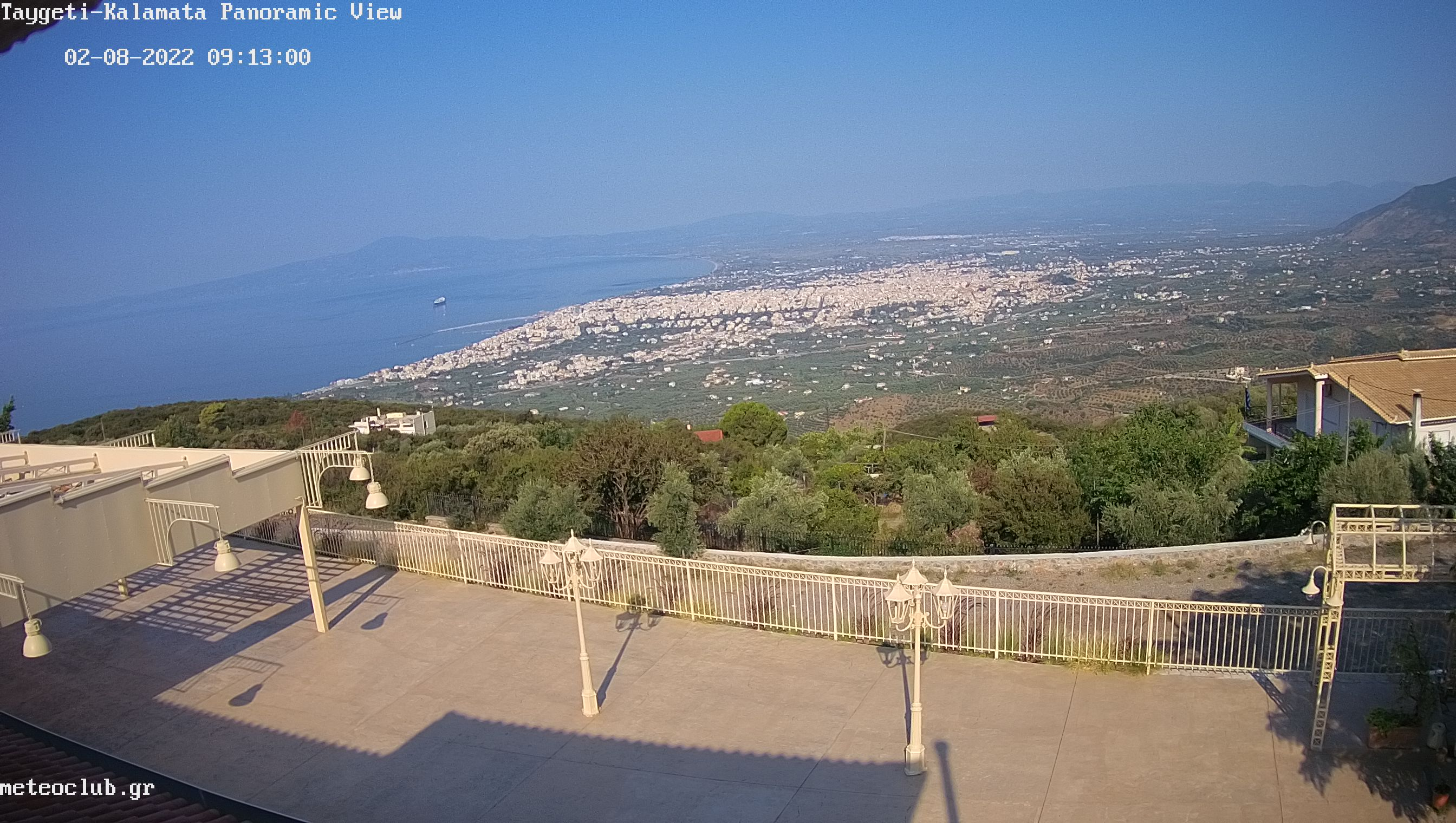 Kalamata – Panoramablick Webcam Live